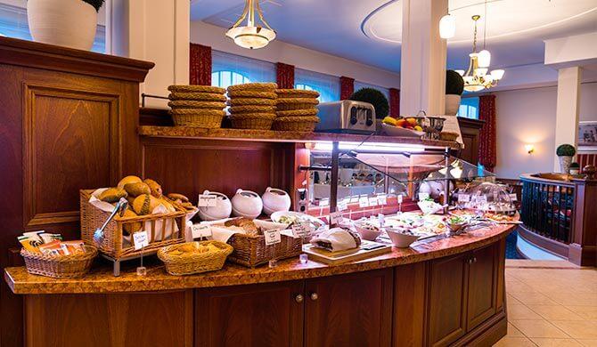 Frühstücksbuffet im Strandhotel Ostfriesenhof